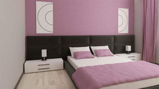 Delikatnie Różowa Sypialnia Lilac Bedroom Pomysły Na